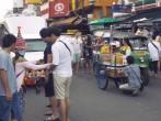 Street food on Khao San Road