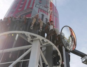 Exciting Amusement Park Rides 2017 -- Hershey's Tower