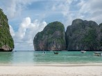 Maya Beach in Thailand is closed to tourists for four months for rehabilitation.