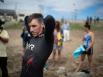 Ben Lecomte is set to be the first man to swim across the Pacific