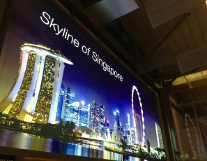 Advertising Airport Singapore