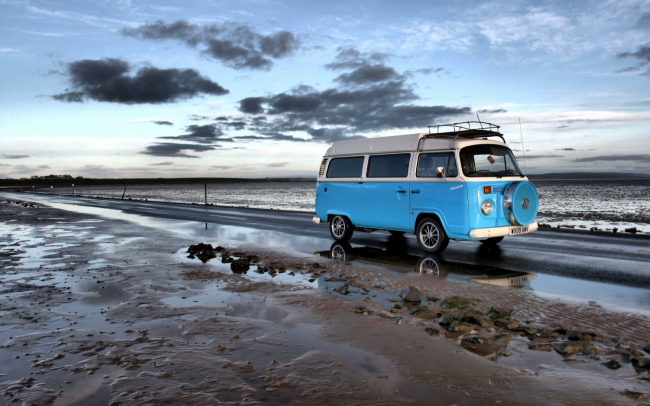 Traveling in a campervan during Corona